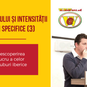 ANTRENAREA RITMULUI ȘI INTENSITĂȚII PRIN EXERCIȚII SPECIFICE (3)