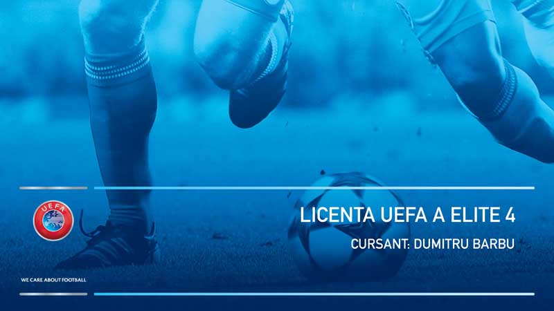 Licenta A UEFA Elite Junior 4