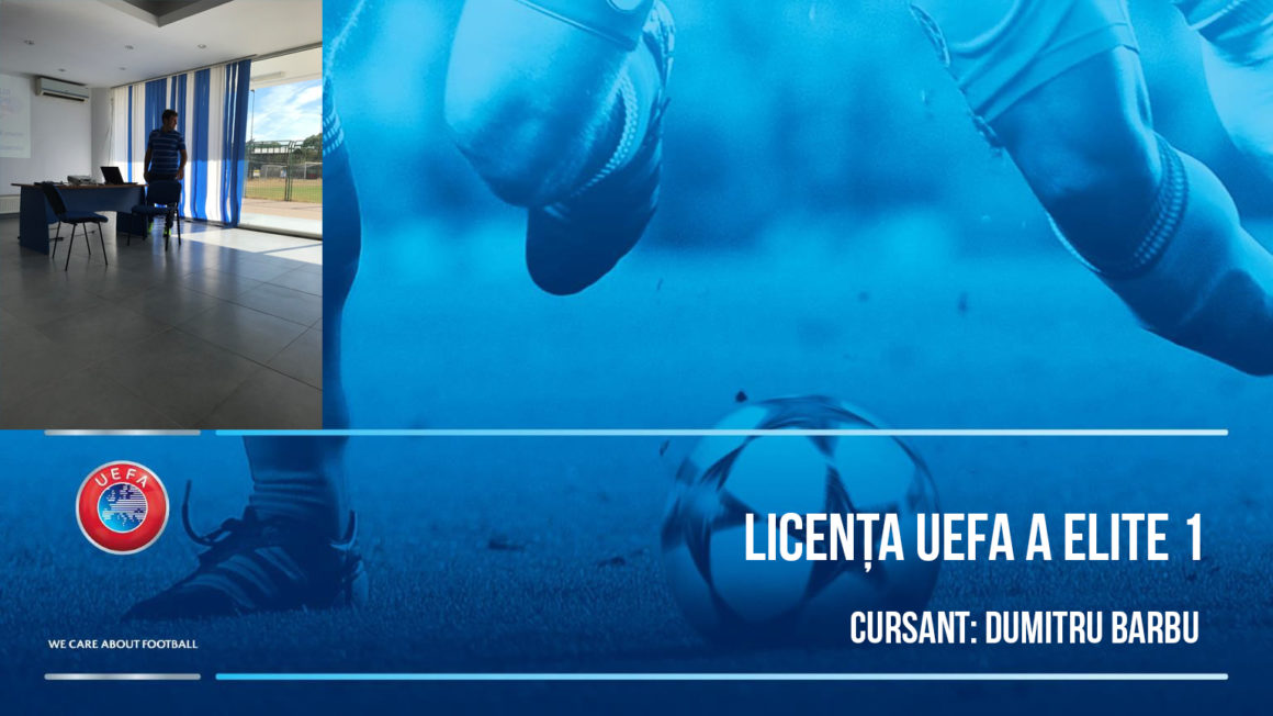 Licenta A UEFA Elite Junior 1