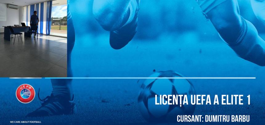 Licenta A UEFA Elite Junior 1