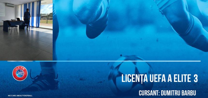 Licenta A UEFA Elite Junior 3