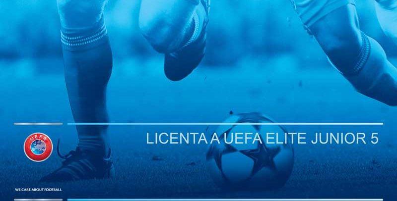 Licenta A UEFA Elite Junior 5