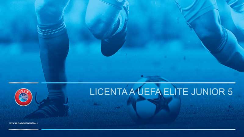 Licenta A UEFA Elite Junior 5