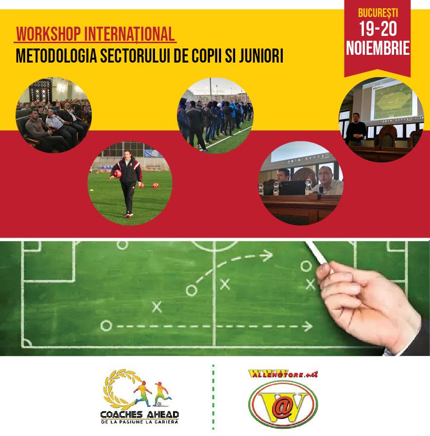 Workshop Internațional – Metodologia sectorului de copii si juniori