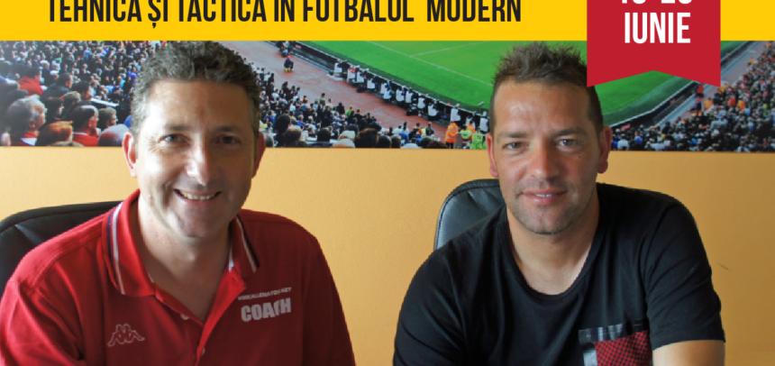 Massimo Lucchesi și Manuele Cacicia vă invită la cel important seminar dedicat antrenorilor români