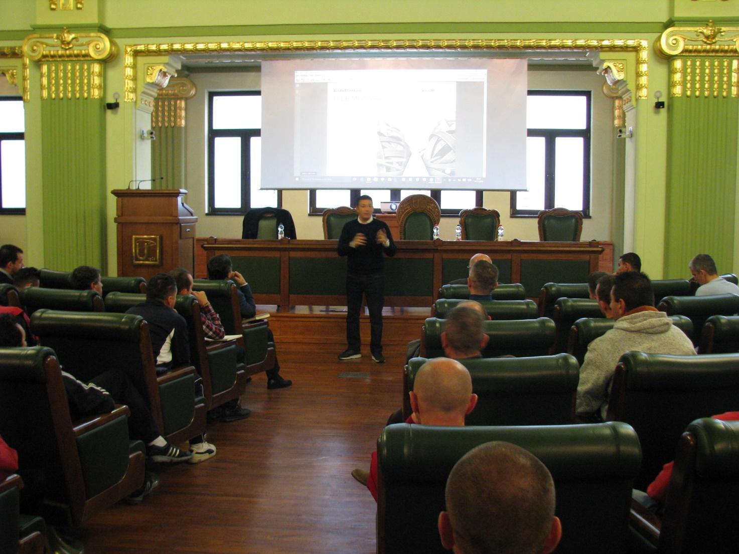 Massimo Lucchesi la Timișoara - Seminar eveniment la Timișoara