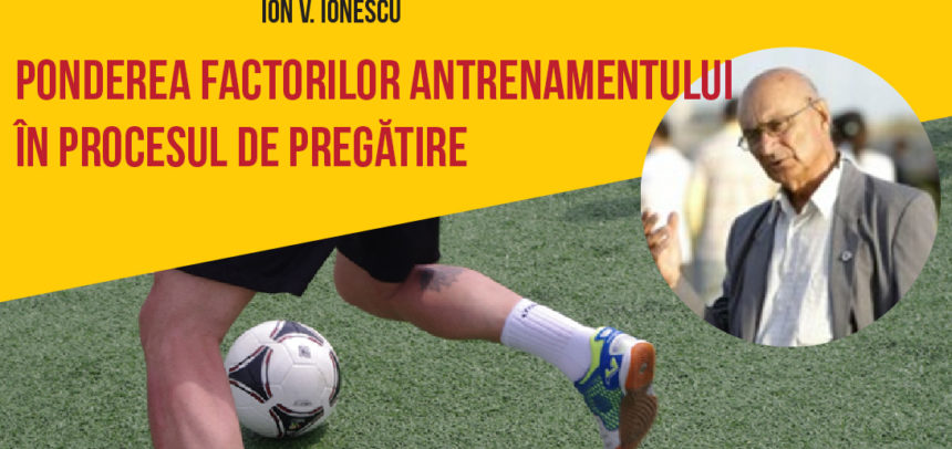 Ponderea factorilor antrenamentului în procesul de pregătire