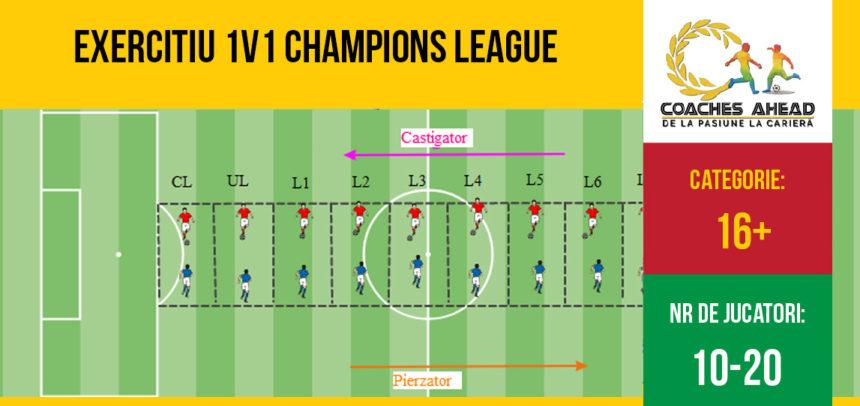 Exercițiu 1v1 Champions League
