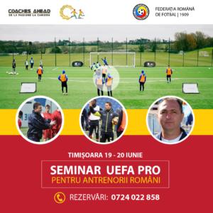 Rezervă-ți locul la cel mai important eveniment al anului dedicat antrenorilor de fotbal din România
