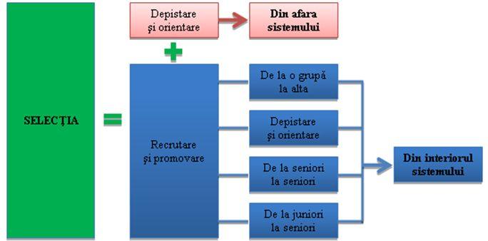 Sursele procesului de selectie