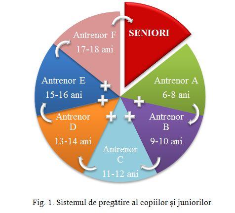 Sistemul de pregatire al copiilor si juniorilor