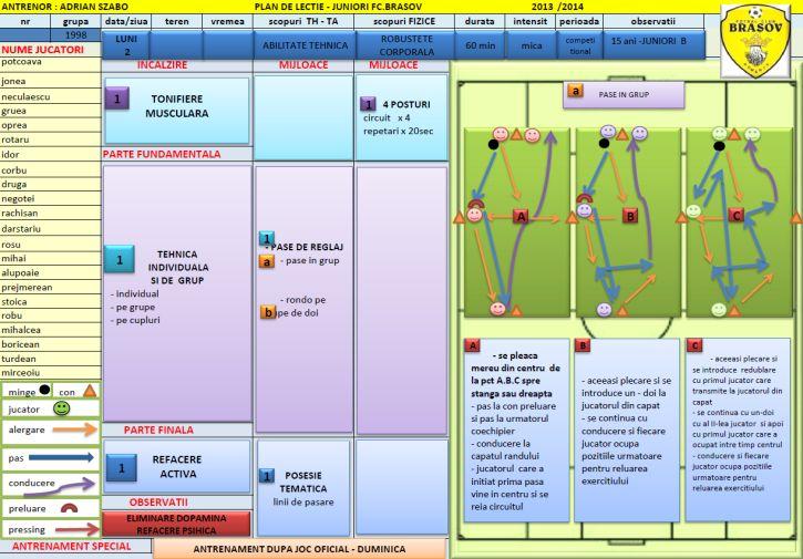 Planuri de lectie copii 15-16 ani - Ciclu saptamanal 2 - luni 1