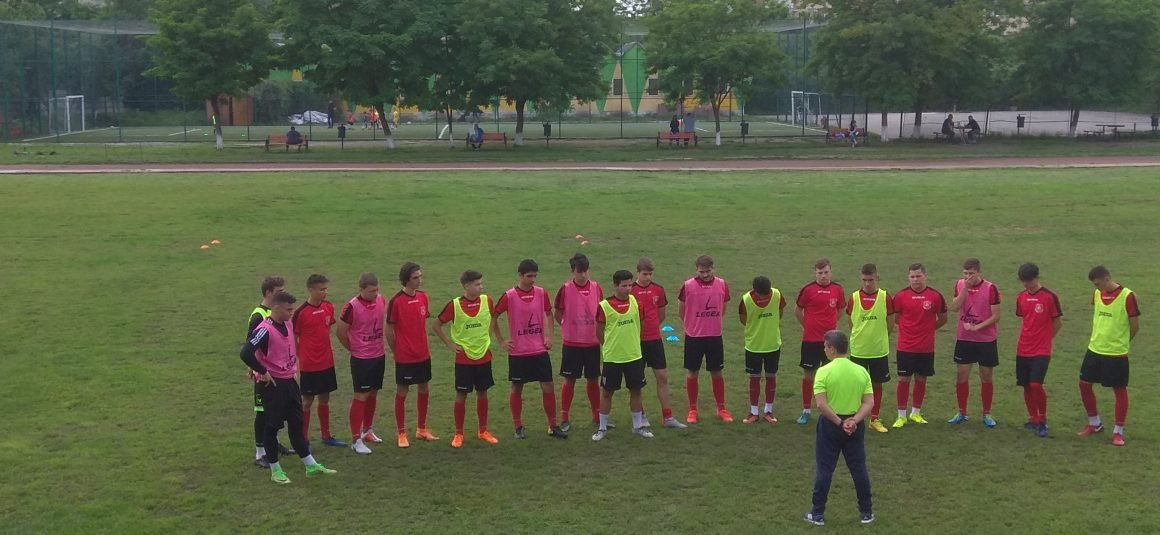 LECȚIE DE ANTRENAMENT – U 17 – Licenta A Youth